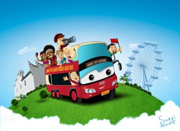 Take Ankai bus, make friends in the world