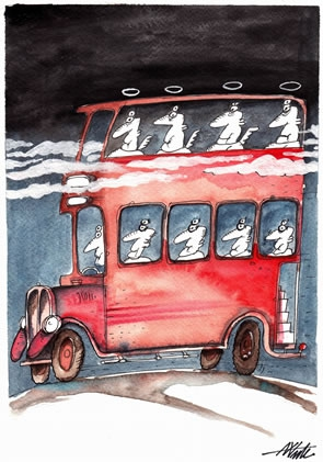 Bus to Paradise