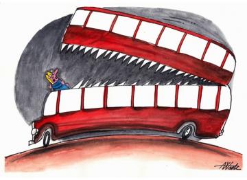 Danger of Bus