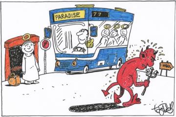Paradise versus Hell