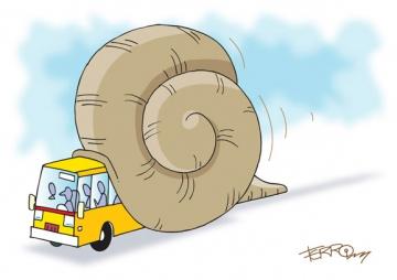 Snail-bus
