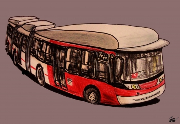 The hipster bus