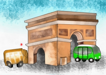 Arc de Triomphe - Wesam Khalil- Egypt