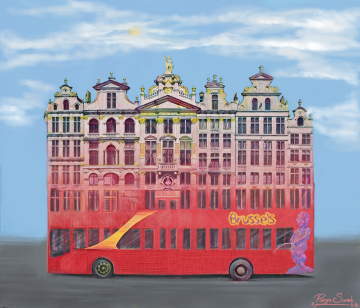 The Grand Place Sightseeing Bus