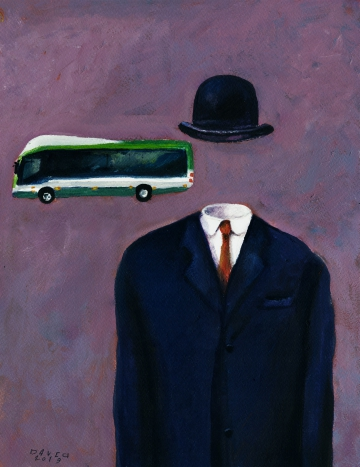 Rene Magritte, Brussels buses
